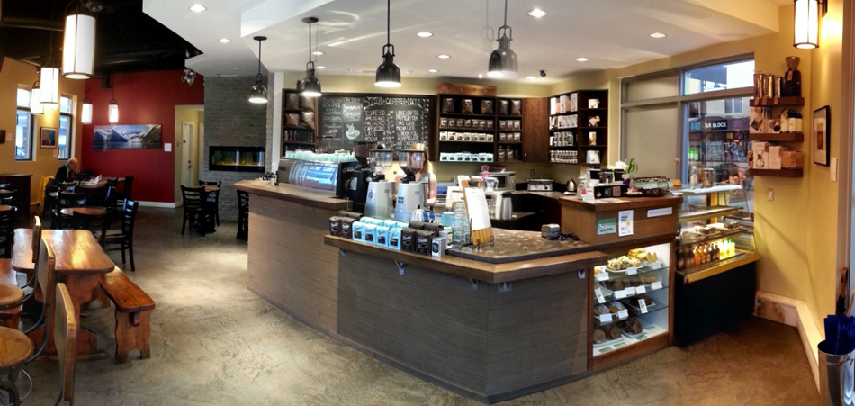 DROP IN FOR A COFFEE OR STEEPED TEA